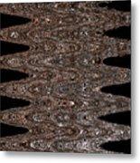 Juniper Tree Bark Abstract Metal Print