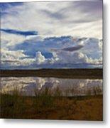 Kalahari Rain Dance Metal Print by Basie Van Zyl