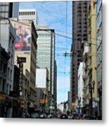 Karney Street San Francisco  Metal Print