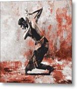 Kathak Dancer  Metal Print