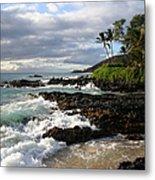 Ke Lei Mai La O Paako Oneloa Puu Olai Makena Maui Hawaii Metal Print by Sharon Mau