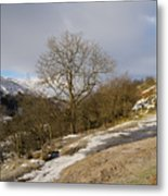 Keld To Muker Metal Print