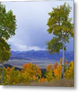 Kenosha Pass Metal Print by Barbara Schultheis