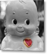 Rosie O'neil's Kewpie Of Love Metal Print