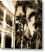 Key West House Metal Print