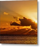 Key West Sunrise 21 Metal Print