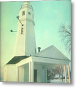 Kimberly Pointe Lighthouse Metal Print
