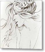 Kiss Of Wind Metal Print
