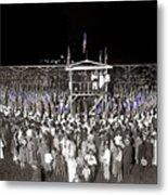 Kkk Services Capital Horse Show Grounds National Photo Co Arlington Virginia August 9 1925-2014 Metal Print