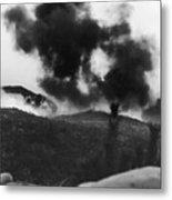 Korean War: Bunker Hill Metal Print