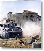 Korean War: Tank, 1951 Metal Print