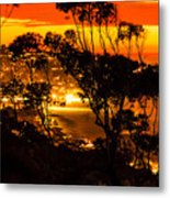 La Jolla Sunset Metal Print