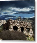 La Luz Rock House Metal Print