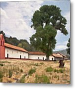 La Purisima Mission II Metal Print