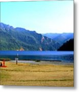Lake Crescent Wa Metal Print