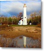 Lake Huron Lighthouse Metal Print