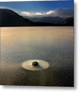 Lake In Auvergne Metal Print by Bernard Jaubert