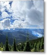 Lake Mcdonald From Mt Brown Trail - Glacier National Park Metal Print