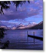 Lake Mcdonald Sunset Metal Print