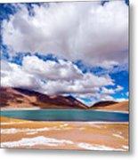 Lake Meniques In Chile Metal Print