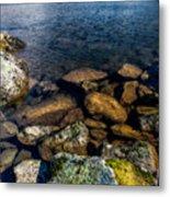 Lake Ogwen Metal Print