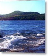 Lake Superior Landscape Metal Print