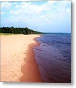 Lake Superior Shoreline Metal Print