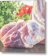 Lamb Shank Metal Print