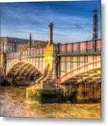 Lambeth Bridge London Metal Print