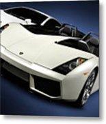 Lamborghini Super Cars Metal Print