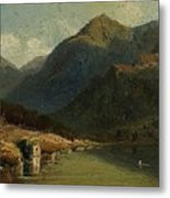 Landscape From Brienzersee Metal Print