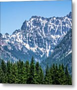 Landscape Nature Scenes Around Columbia River Washington State A Metal Print