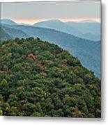 Landscape View At Cedar Mountain Overlook Metal Print