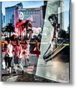 Las Vegas Strip 0231 Metal Print