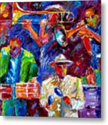 Latin Jazz Metal Print