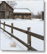 Lawr Farm Metal Print