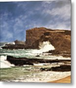 Lazy Day At The Beach Metal Print
