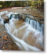 Ledge Brook - White Mountains New Hampshire Usa Metal Print by Erin Paul Donovan