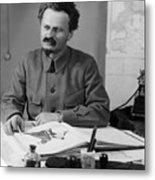Leon Trotsky (1879-1940) Metal Print