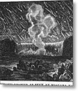 Leonid Meteor Shower, 1833 Metal Print
