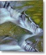 Letchworth Falls Sp Wolfe Creek Metal Print