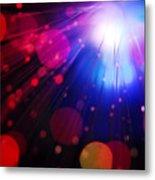 Light Burst-4 Metal Print