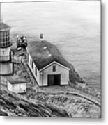 Lighthouse On The Point Metal Print