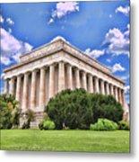 Lincoln Memorial Metal Print