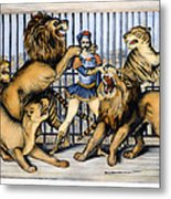 Lion Tamer, 1873 Metal Print
