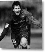 Lionel Messi 1 Metal Print