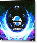 Liquicity Metal Print