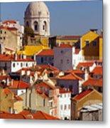 Lisbon View Metal Print