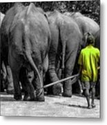 Little Big Man Metal Print