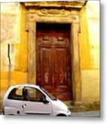 Little Car Of Florence Metal Print